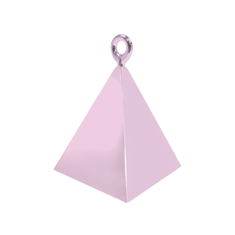 Pearl Light Pink Pyramid Balloon Weight  Balloon Weights Hello Party - All you need to make your party perfect! - Hello Party