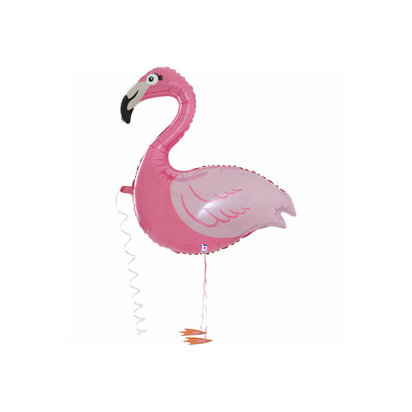 Walking Flamingo Balloon Friend  Balloons Anagram - Hello Party