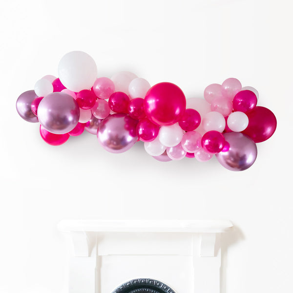 Polished Pink Balloon Garland Cloud DIY Installation Kit