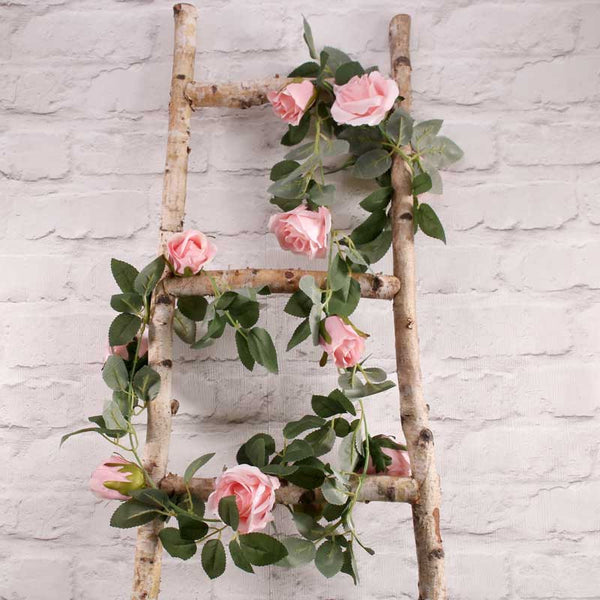 Pink Rose Garland  Garland Hello Party UK - Hello Party