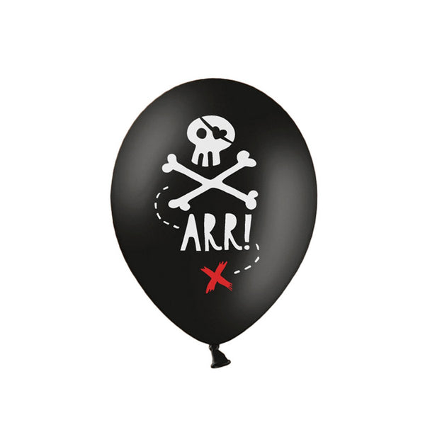 Pirate Party Balloons  Printed Balloons Party Deco - Hello Party