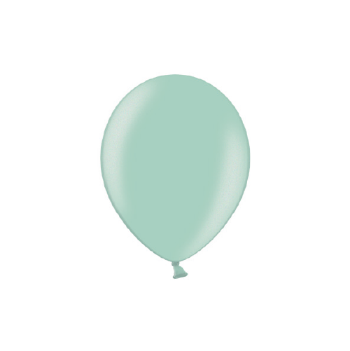Pearl Mint Balloons (pack of 5)  Latex Balloons Hello Party Essentials - Hello Party