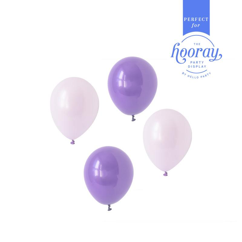 Playful Purples Balloons Hooray Party Display Contents Pack  Fillable Cake Stand Content Packs Hello Party - Hello Party