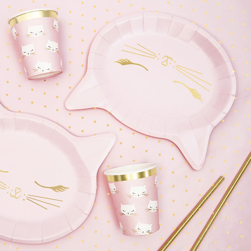 Pretty Party Cat Cups  Party Cups Party Deco - Hello Party