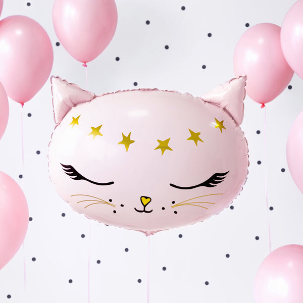 Pretty Cat Foil Balloon
