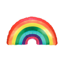Giant Rainbow Shaped Foil Balloon  Balloons Hello Party - Hello Party