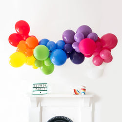 Rainbow Bright Balloon Cloud Kit  Balloon Cloud Kit Hello Party - Hello Party