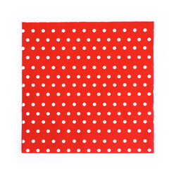 Red Dotty Napkins  Napkins Neviti - Hello Party