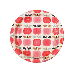Set 8 Paper Plates Vintage Apple  Party Plates Rex International - Hello Party