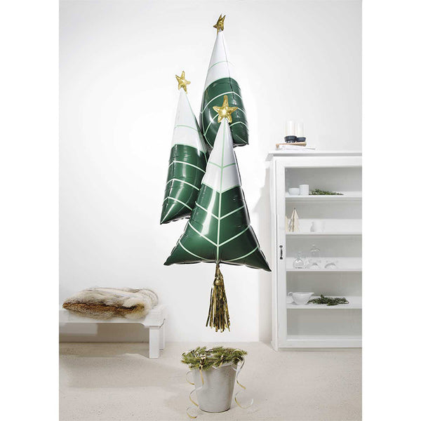 Minimal Scandi Christmas Tree Balloon