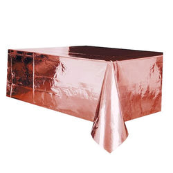 Rose Gold Tablecloth  Tablecloth Hello Party - Hello Party