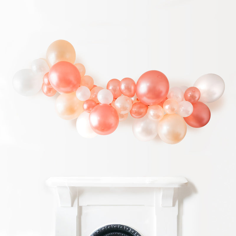 Everything's Rosy Gold Mini Balloons (pack of 12)  Latex Balloons Hello Party Essentials - Hello Party