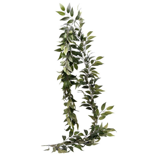 Ruscus Leaf Garland  Greenery Hello Party UK - Hello Party