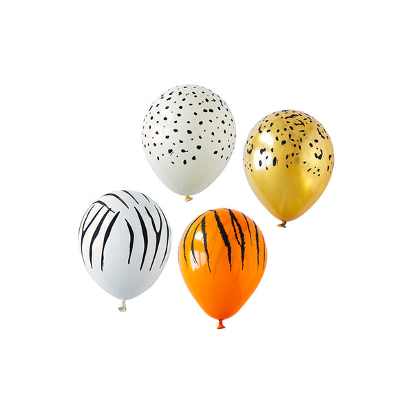 Animal Print Safari Mini Balloon Mix <br>(pack of 10)
