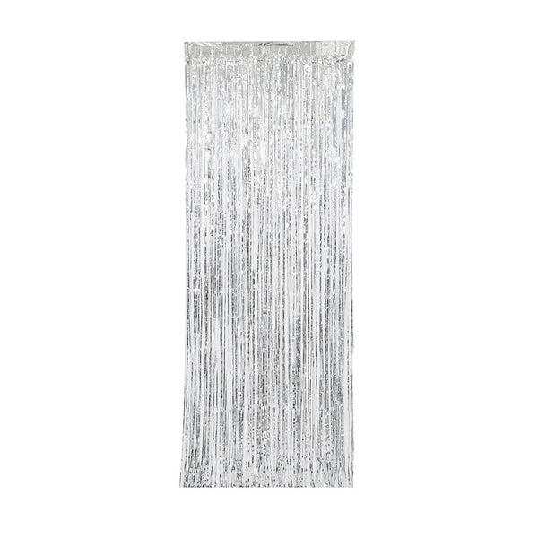 Silver Metallic Door Curtain  Party Curtain Hello Party - All you need to make your party perfect! - Hello Party