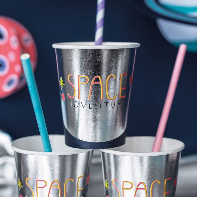 Space Party Cups  Party Cups Party Deco - Hello Party