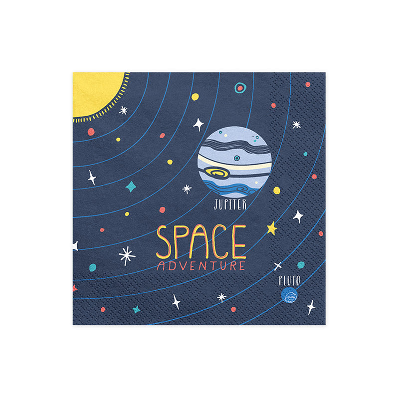 Space Party Napkins  Napkins Party Deco - Hello Party
