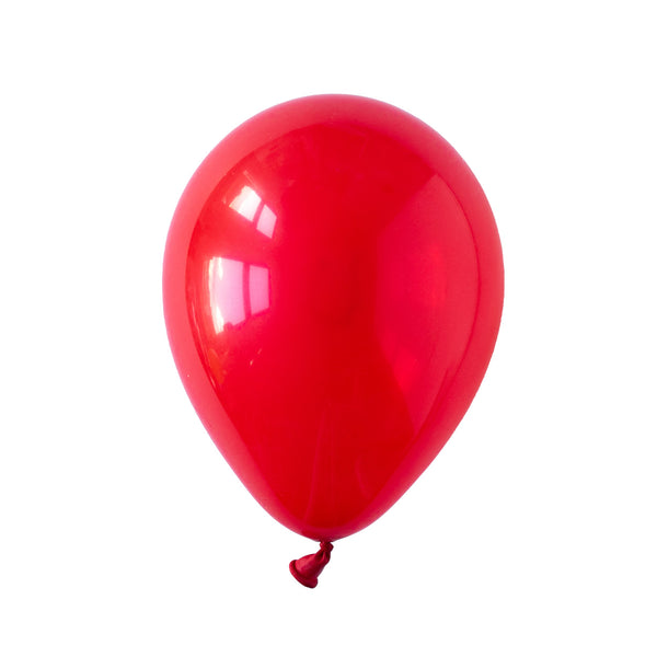 Ruby Red Party Balloons