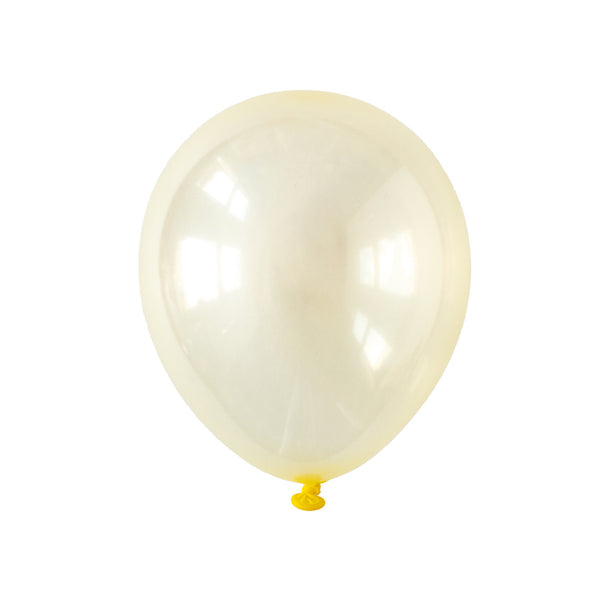 Pastel Yellow Crystal Party Balloons