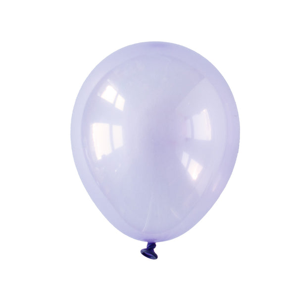 Pastel Lilac Crystal Party Balloons