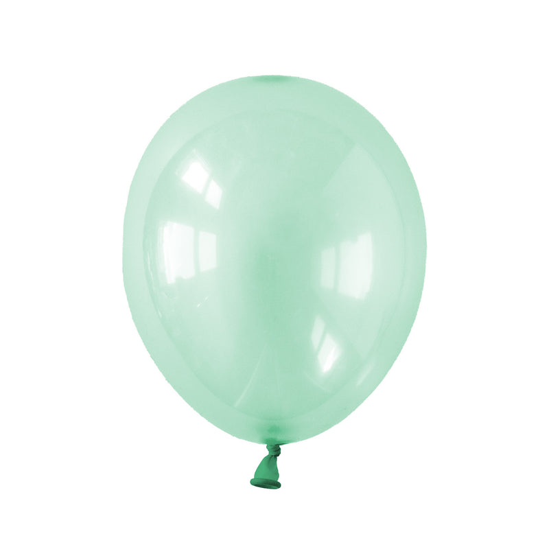 Pastel Green Crystal Party Balloons