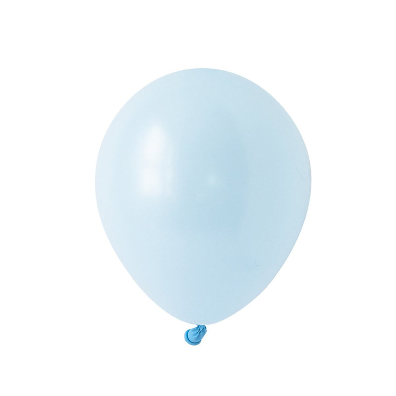 Chalky Pastel Blue Party Balloons | Biodegradable | Stylish Party Supplies