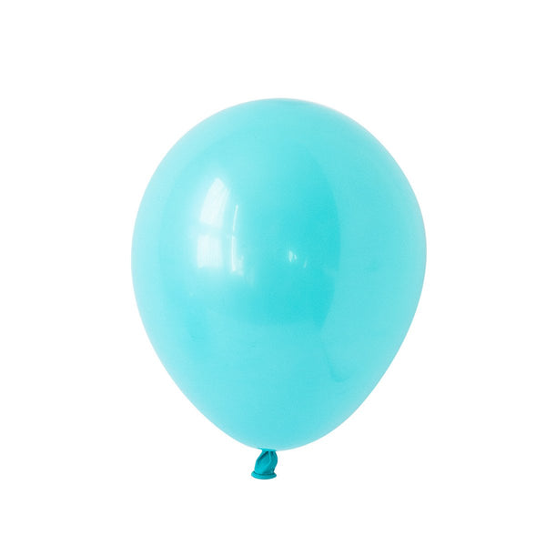 Caribbean Blue Party Balloons | Biodegradable | Stylish Party Supplies