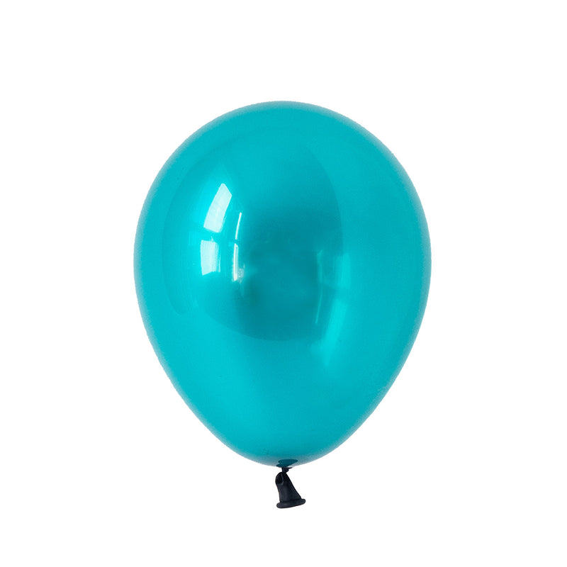 Jewel Teal Party Balloons Biodegradable Stylish Party Supplies