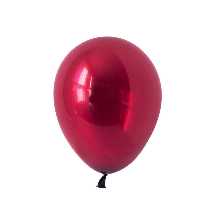 Sparkling Burgundy Party Balloons | Biodegradable | Stylish Party Supplies