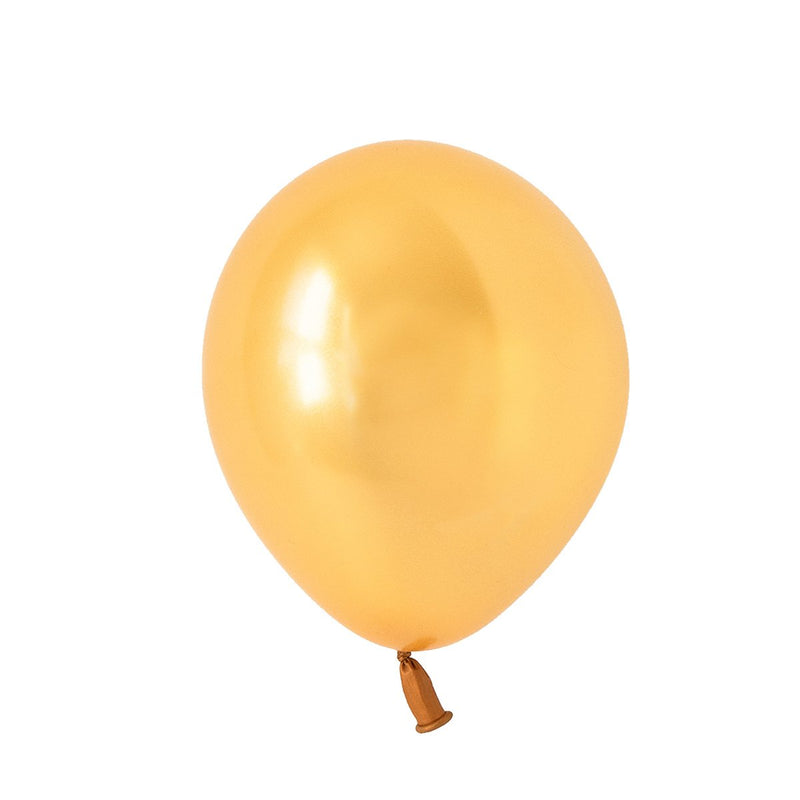 Metallic Gold Balloons | Biodegradable | Stylish Party Supplies