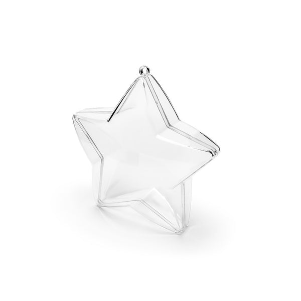 Clear Star Favour Boxes