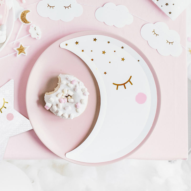Little Moon Plates  Party Plates Party Deco - Hello Party