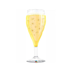 "Champagne Glass 39"" Supershape Balloon  Balloons Hello Party - All you need to make your party perfect! - Hello Party"