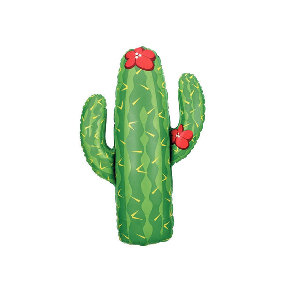 Giant Cactus Shaped Foil Balloon  Balloons Hello Party - All you need to make your party perfect! - Hello Party