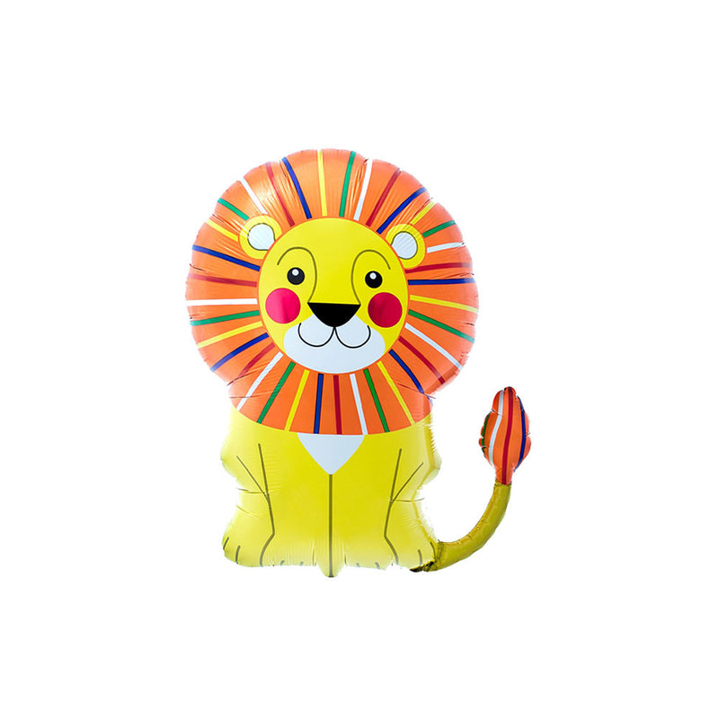 "Big Lion Foil Balloon (28"")  Balloons Hello Party - All you need to make your party perfect! - Hello Party"