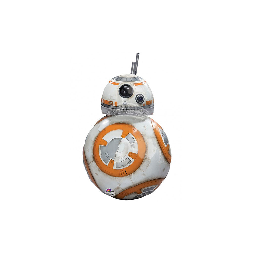 "Star Wars BB-8 33"" Supershape Foil Balloon Front"