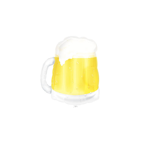 "Beer Mug See-Thru 23"" Supershape Foil Balloon  Balloons Hello Party - All you need to make your party perfect! - Hello Party"