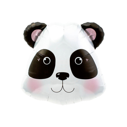 "Panda Head 28"" Supershape Foil Balloon"