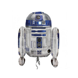 "Star Wars R2D2 26"" SuperShape Foil Balloon  Balloons Hello Party - All you need to make your party perfect! - Hello Party"