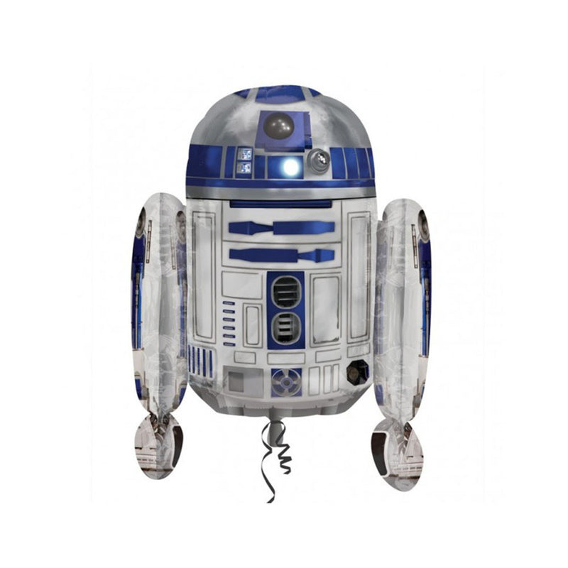 "Star Wars R2D2 26"" SuperShape Foil Balloon"