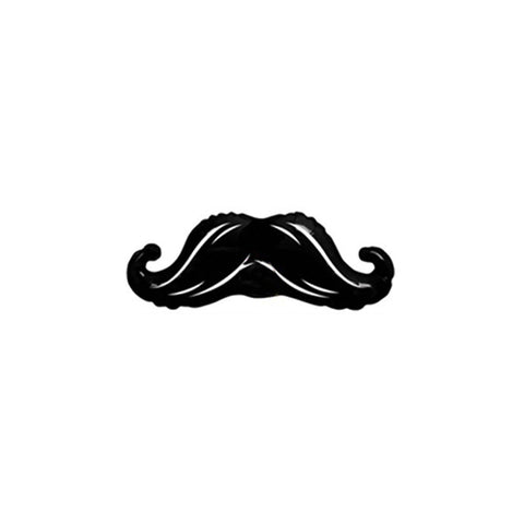 Mini Moustache Foil Balloon 12""