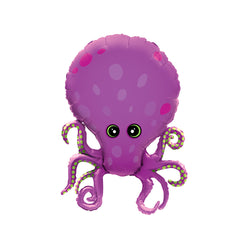 Octopus Foil Balloon  Supershape Balloons qualatex - Hello Party