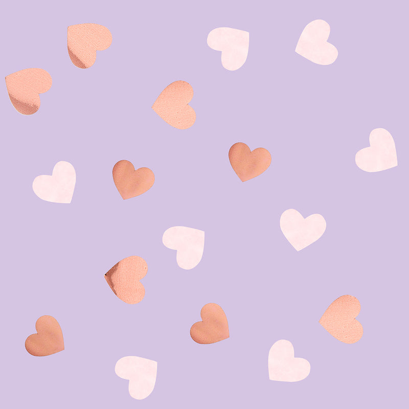 Sweet Hearts Heart Confetti  Confetti Club Green - Hello Party