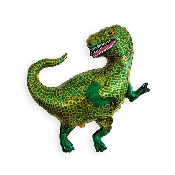 Scaley Tyrannosaurus Dinosaur Foil Party Balloon