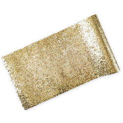 Gold Glitter Table Runner Modern Stylish Tableware