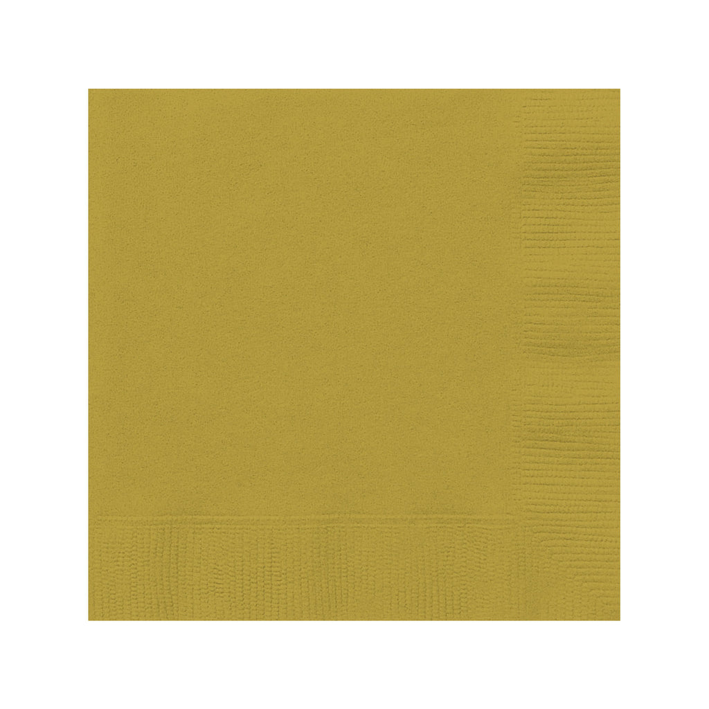 Solid Gold Napkins
