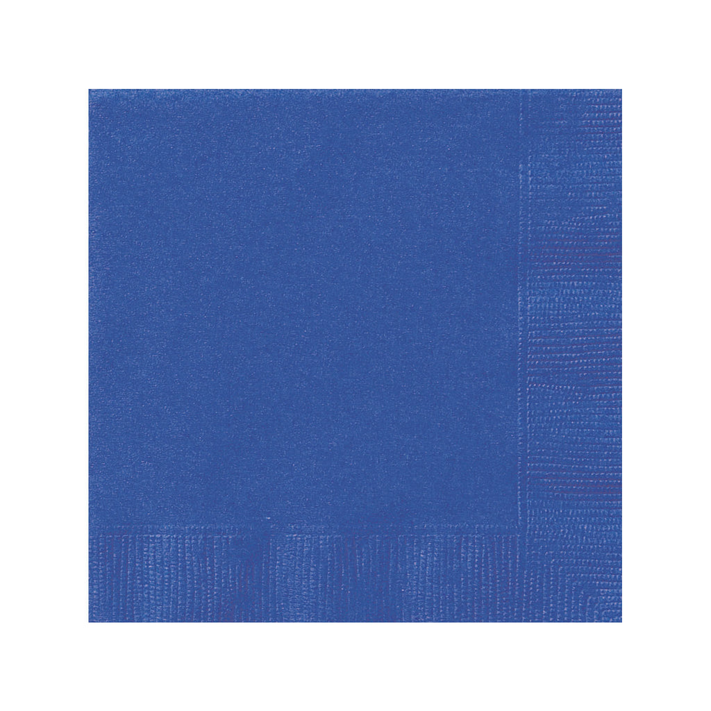 Solid Royal Blue Napkins