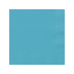 Solid Caribbean Teal Napkins  Napkins Hello Party - All you need to make your party perfect!  - Hello Party