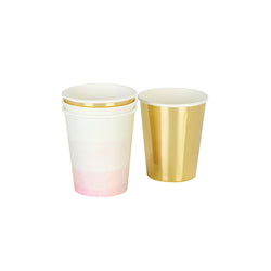We Heart Pink Paper Cups  Party Cups Talking Tables - Hello Party
