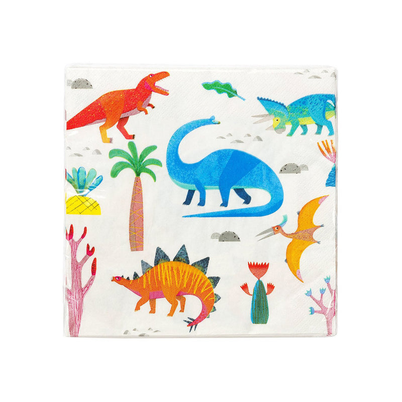Party Dinosaur  Napkins Talking Tables - Hello Party